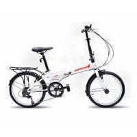 折叠自行车折叠车变速车学生男女款折叠车自由人2.016寸精致快捷时尚