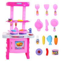 女孩玩具儿童过家家玩具 仿真餐具厨房做饭煮饭过家家厨房玩具厨具餐具套装活动专属