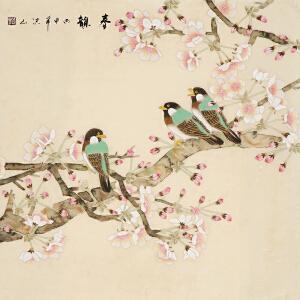 著名画家 张洪山《春韵》