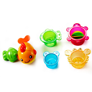auby澳贝沐浴系列 婴幼儿玩具 奥贝调皮小鲸鱼 适用18个月
