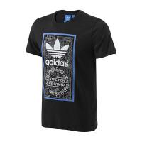adidas阿迪达斯三叶草男装短袖T恤2017年新款运动服BP8986
