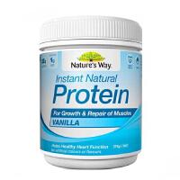 澳洲Natures Way Protein VANILLA 蛋白质粉香草味375g/瓶【澳世无双直邮进口】