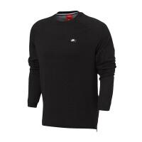 NIKE耐克男装2017新款运动休闲圆领透气针织套头长袖T恤846351