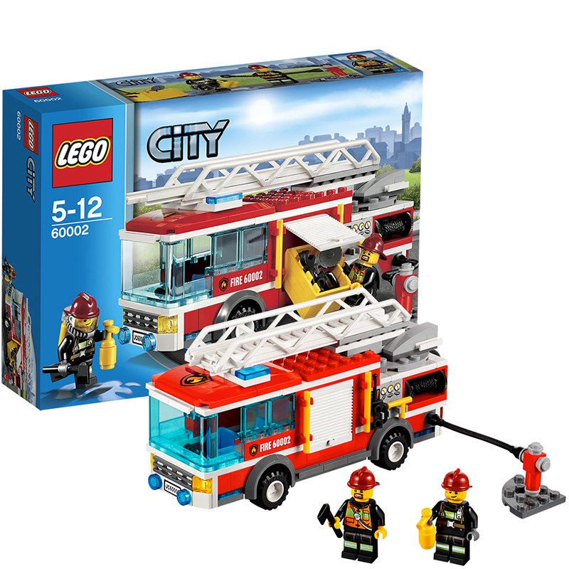 LEGO 乐高 CITY城市系列 大型消防 ...