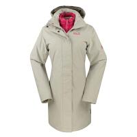 狼爪JACKWOLFSKIN 女款冬长款防水透气三合一套羽绒冲锋衣 5005301