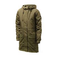 adidas阿迪达斯NEO女装外套夹克连帽长风衣运动服AZ0012