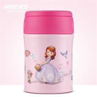 哈尔斯不锈钢迪士尼焖烧壶380ml 学生饭盒保温桶保温杯DSTH-380-8