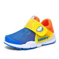 史努比童鞋男童运动鞋夏季单网女童跑步鞋男孩网鞋透气休闲鞋