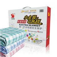双人双温双控/安全调温型电热毯155*125/颜色随机发