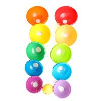 【当当自营】费雪层层叠彩虹杯碗儿童叠叠乐码高高婴幼儿宝宝益智玩具K7166