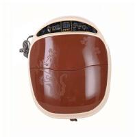 全自动加热按摩泡脚电动洗脚盆足浴盆 足浴器朗悦LY-810A加热泡脚盆深桶足疗足浴器
