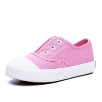史努比童鞋男春季新款女童布鞋小学生运动鞋白板鞋