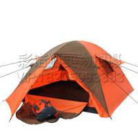 新款庭院草地双层帐篷 海边3-4人钓鱼防雨遮阳罩 野餐外露营帐篷 户外休闲旅行装备
