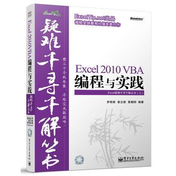 Excel2010VBA编程与实践(附光盘)/Excel疑难