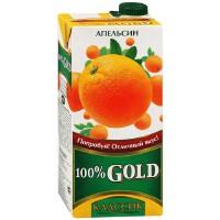 GOLD 歌德纯橙汁 0.95L 俄罗斯进口