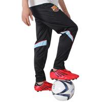 运动男 足球训练裤收腿裤运动长裤收腿 巴萨罗纳足球服套装 黑色透气吸汗 AC米兰德国队阿根廷巴萨巴西足球