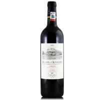 法国原瓶原装进口红酒 拉菲奥希耶徽纹干红葡萄酒 750ml