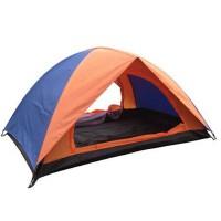 户外装备 户外露营篷 双人双层防雨野营帐篷 遮阳钓鱼沙滩帐