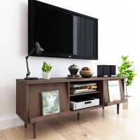 择木宜居 简约现代电视机柜 时尚客厅家具 木质储物电视柜