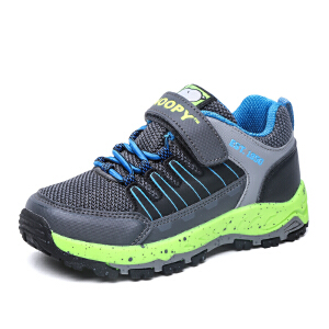 史努比童鞋男童户外运动鞋耐磨防滑中大童登山鞋透气休闲鞋