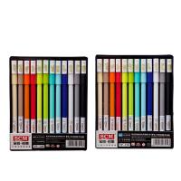 【单笔满58元送盒装笔芯】至尚创美 创意学生文具 0.35/0.5mm黑蓝红色中性笔水笔碳素水笔 12支/盒