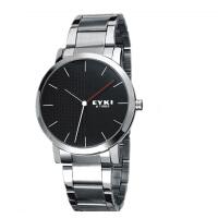 2017年新款 EYKI艾奇 新款 简约潮流表盘 时尚皮表带 男士时装手表 8410