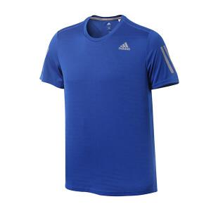 adidas阿迪达斯男装短袖T恤2017新款跑步运动服BP7429