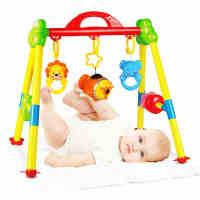 婴儿健身架带音乐0-3-4-6-12个月新生儿宝宝玩具0-1岁儿童健身器