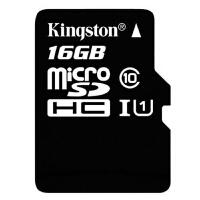 【包邮】Kingston 金士顿 16G TF 手机内存卡 MicroSDHC Class10 高速存储卡 16g内存卡 16gtf卡 存储卡 TF卡 内存卡  手机内存卡存储卡闪存卡手机卡MicroSD卡TF卡行车记录仪卡 所有支持TF卡的手机均可使用