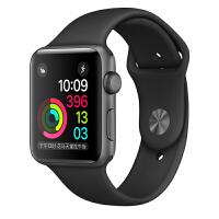 [当当自营] Apple Watch Sport Series 2智能手表(38毫米深空灰色铝金属表壳搭配黑色运动型表带 MP0D2CH/A)