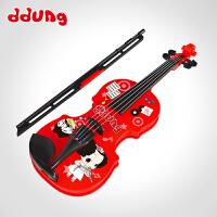 ddung/冬己 儿童小提琴乐器仿真电子琴玩具 男女孩早教益智玩具礼物