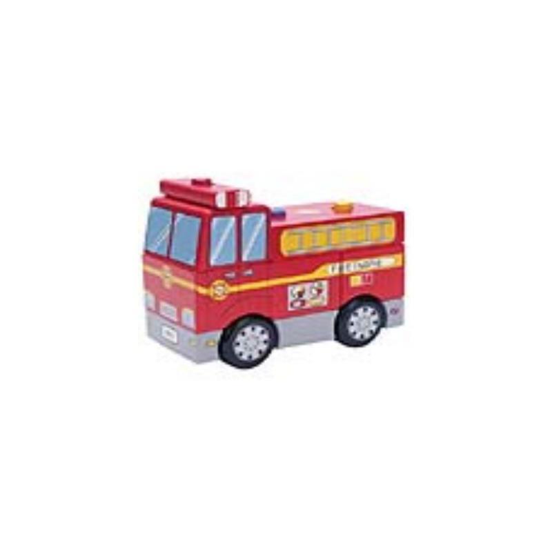 积木消防车价格_品牌_图片