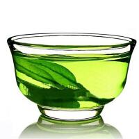 小茶碗 品茗杯 耐热玻璃杯 玉兰杯 功夫茶杯5个装 40毫升