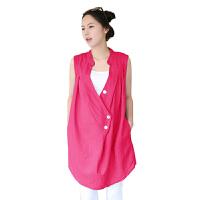 慈颜CIYAN韩版孕妇上衣两件套孕妇夏装孕妇装 短袖孕妇装FF1112
