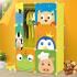 崇尚 环保简易储物衣柜 可自由组装收纳衣橱宝宝玩具储物柜