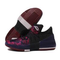 adidas阿迪达斯男鞋篮球鞋2017新款D Lillard3利拉德三代运动鞋B49509