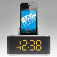Philips/飞利浦 DS125 底座式 多媒体苹果音箱 适用iPhone5 6  附带闹钟收音机功能