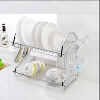 厨房用品多功能S型双层碗碟架/碗架9字型碗架餐具架/厨房收纳Q6301-1
