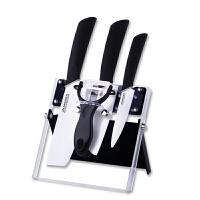 美帝亚陶瓷刀套装 厨房刀具5件套日本菜刀厨师刀水果刀削皮刀