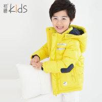 初语童装男童冬装外套2016羽绒服短款加厚保暖内胆儿童羽绒服