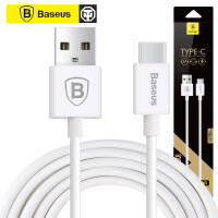 倍思 烁系列 Type-C2.0 数据线手机平板新款正反插USB C型充电线 长1M