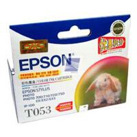 爱普生 T053 彩色墨盒 送相纸一包 适用PH700 710 720