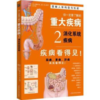 你一定要了解的重大疾病2:消化系统疾病