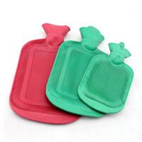 2个装怀旧充水热水袋 冲水热水袋 加厚橡胶注水暖水袋 小号颜色随机
