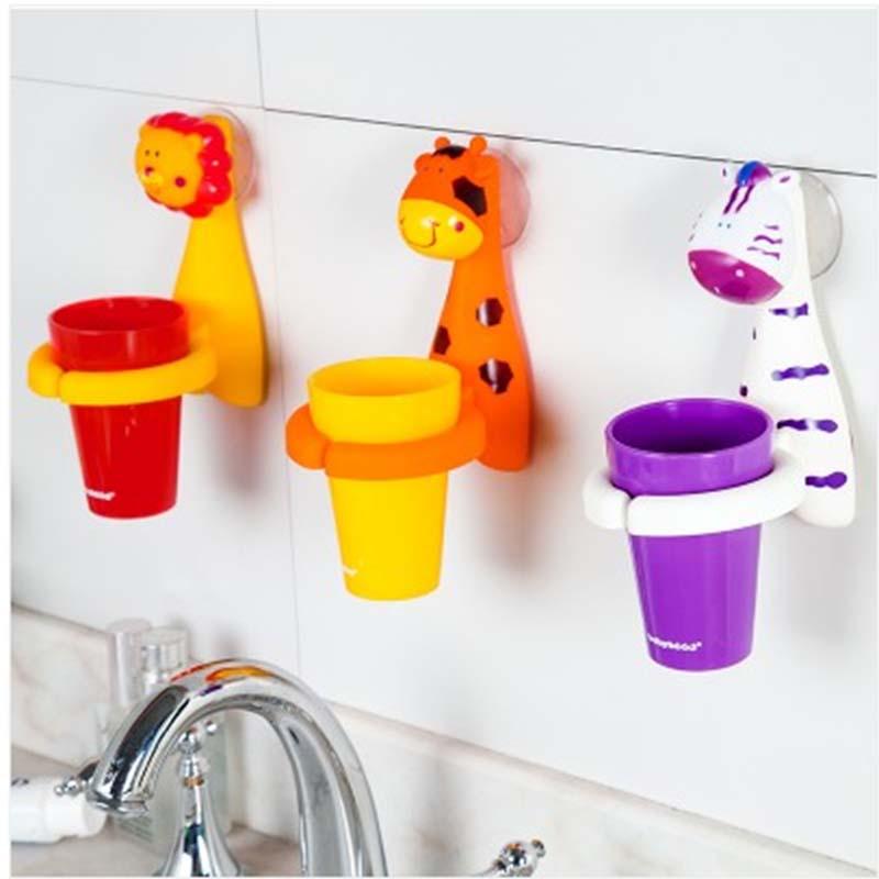 【沃塔森儿童水杯】可爱卡通动物造型儿童牙刷杯
