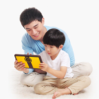 小天才(XTC) 儿童平板 K1 咖啡/黄 护眼抗摔早教机小学同步家教机点读机儿童故事机游戏机 敏感辅助工具