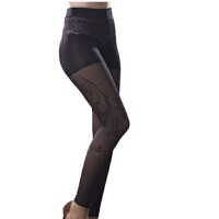 薄款修身美腿塑形高弹假透肉打底裤功能内衣