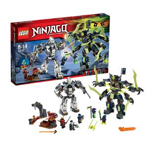 [当当自营]LEGO 乐高 NINJAGO幻影忍者系列 泰坦机器人大决战 积木拼插儿童益智玩具 70737