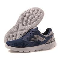 SKECHERS 斯凯奇2017新款男鞋跑步鞋运动鞋跑步54350/BKGY