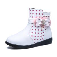 hellokitty童鞋女童皮鞋公主鞋保暖大棉女童鞋休闲女单鞋